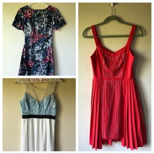French connection Anthropologie Tobi dresses